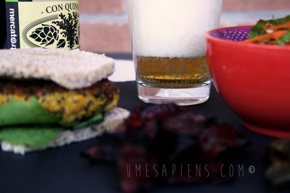 vegan burger zucca tofu
