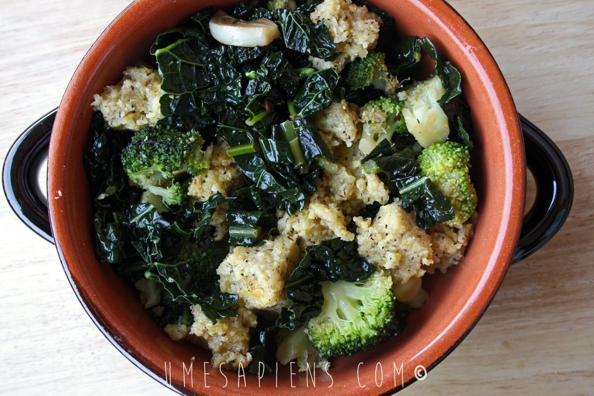 polenta broccoli