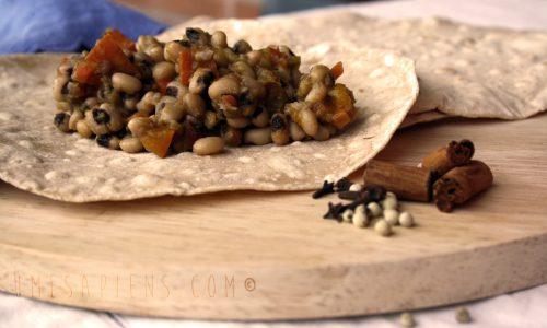 Stufato di fagioli e zucca alla cannella per l'Ora della Terra