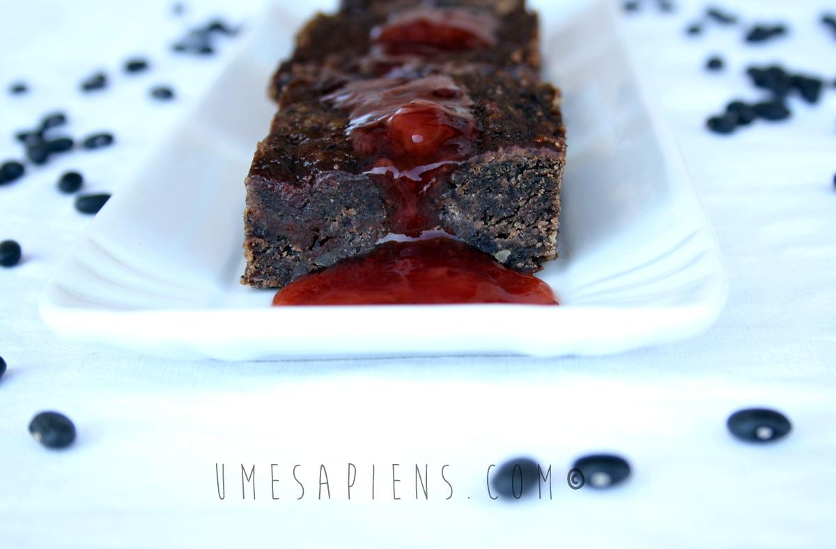 brownies vegan fagioli neri