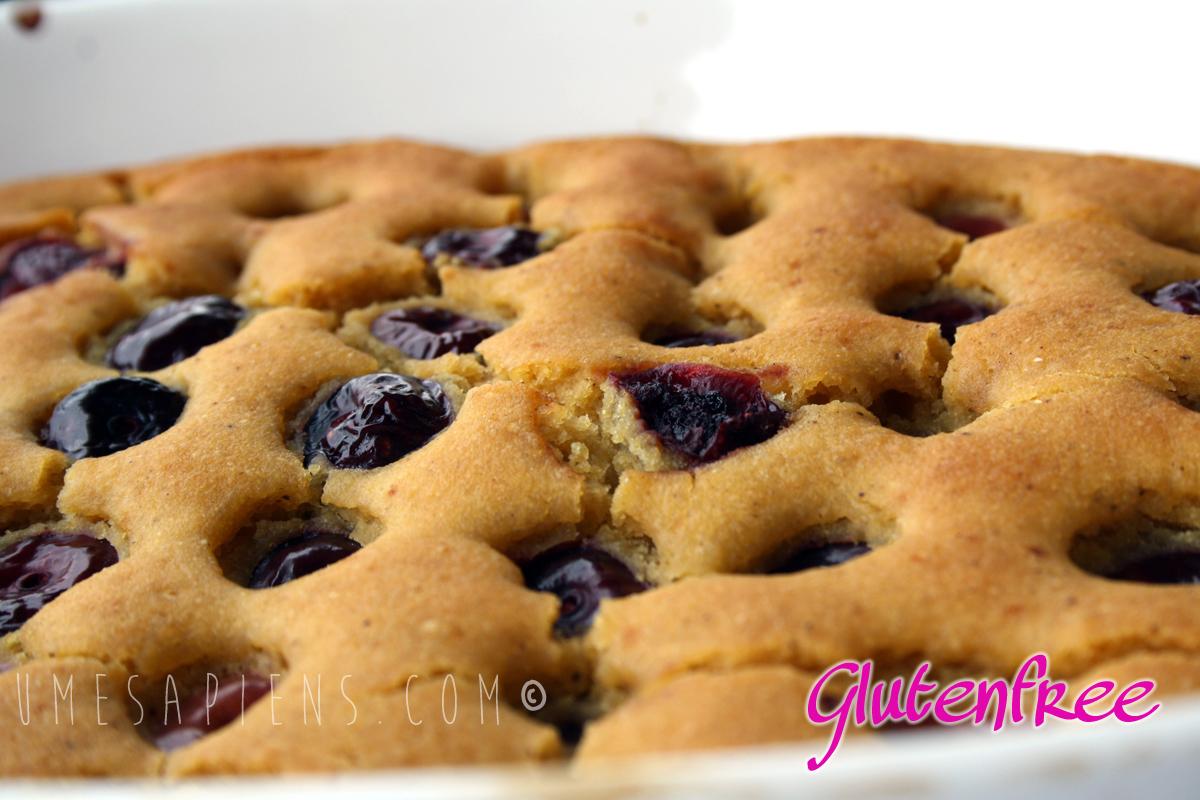torta ciliegie glutenfree