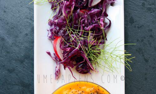 Gazpacho di carote e zenzero