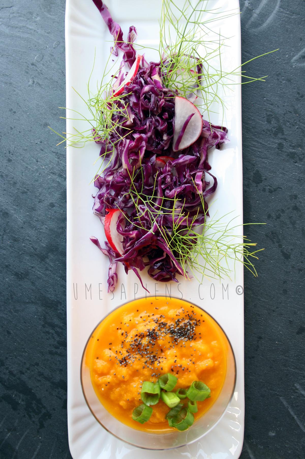 gazpacho di carote