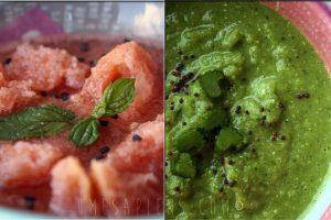Gazpacho! Due versioni, due colori