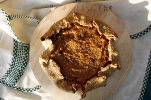 Pumpkin pie vegan (crostata di zucca e zenzero)