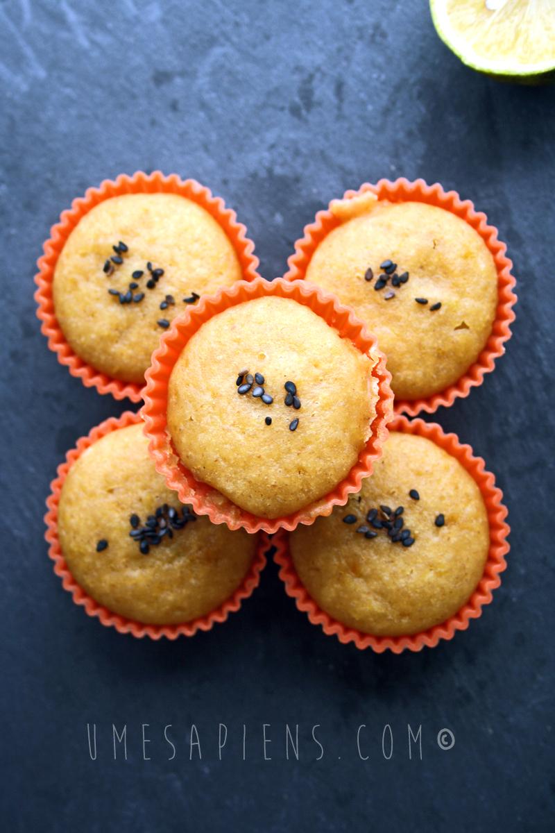 muffin a vapore al limone