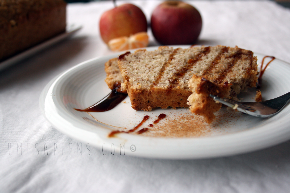 plumcake vegan clementine
