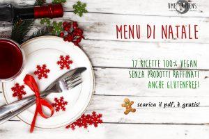 Menu di Natale vegan e glutenfree