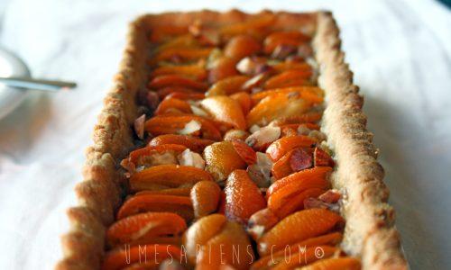 Crostata di kumquat con mandorle e vaniglia