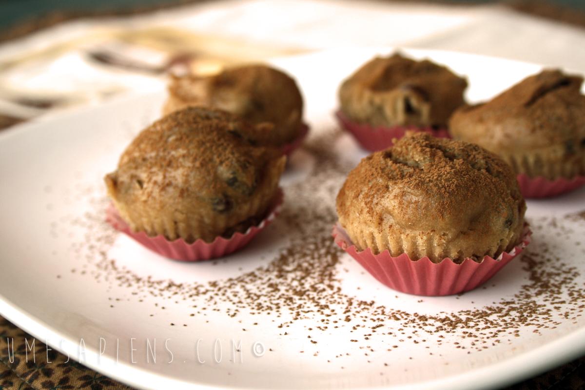 muffins senza glutine con farina di castagne