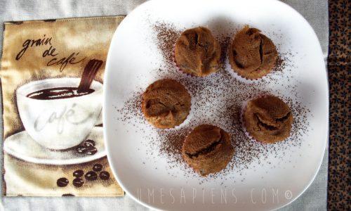 Muffin senza glutine con farina di castagne (cotti a vapore)