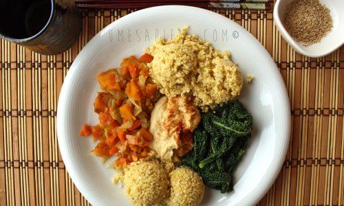 La dieta macrobiotica: come comporre un piatto