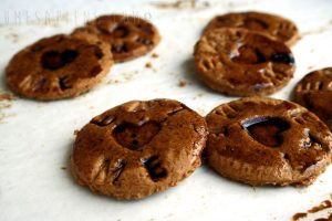 Biscotti alla liquirizia (vegan cookies)