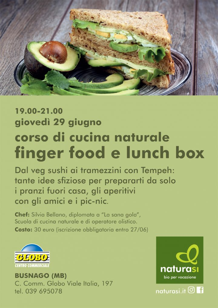 corso fingerfood e lunchbox