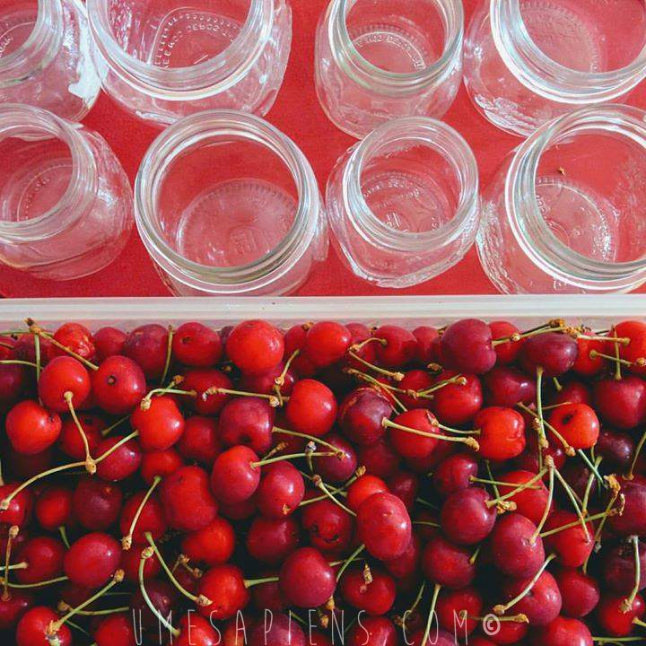 marmellata di ciliegie senza zucchero