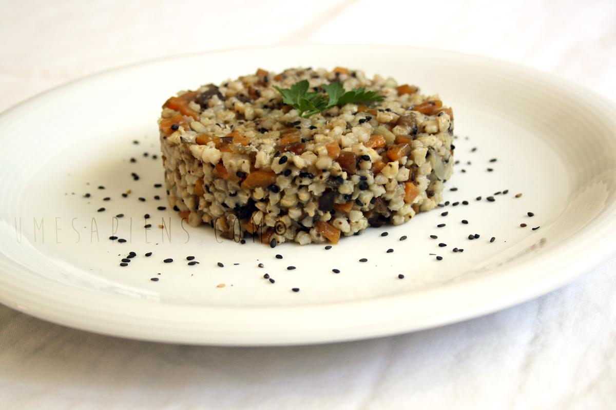 sorgo verdure al miso