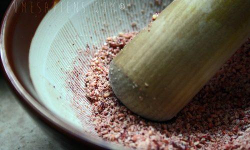 Condimento speciale: gomasio all'umeboshi