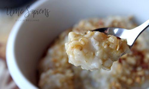 La colazione macrobiotica e la crema di cereali