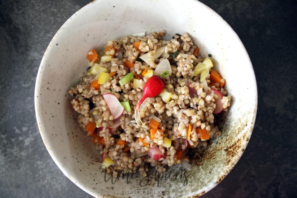 insalata di grano saraceno