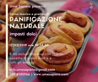 Panificazione naturale impasti dolci