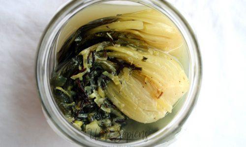 Kimchi di mare con alghe e pak choi (Sea-chi)
