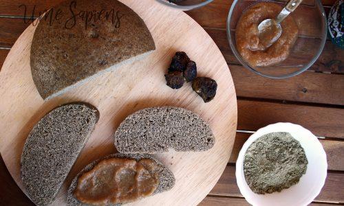 Pane al vapore con farina di canapa sativa