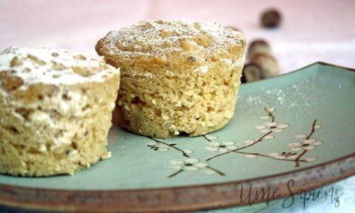 Muffins al bergamotto cotti al vapore