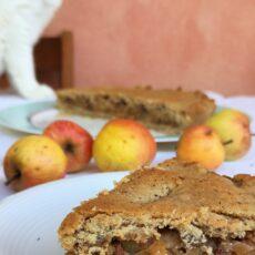 Apple pie vegan e senza zucchero